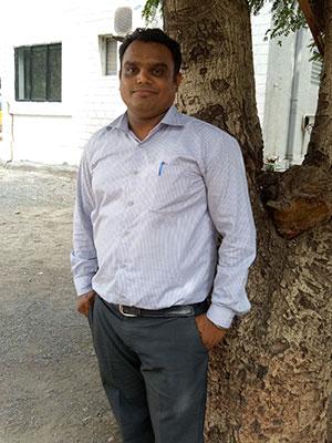 Ketan Patel B.A. (Eng) BED Teaching grades 1-5 in BNB School, English Medium